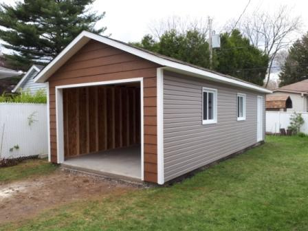 Garage Prefab In Montreal Cabanon Fortin